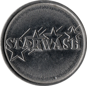 Jeton de lavage auto - Starwash – avers