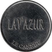 Jeton de lavage auto - Lav'Azur – avers