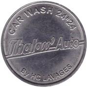 Jeton de lavage automobile - Thalass' Auto (Montaigu) – avers