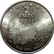 2 Euro de Tarn et Garonne [81] -  avers
