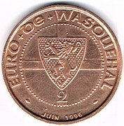 2 euro - Wasquehal (59) -  avers