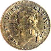 Louis XVI - Der anker wachet das glik lachet -  avers