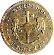 Louis XVI - Der anker wachet das glik lachet -  revers
