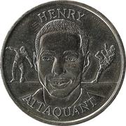 Fédération Française de Football - Continent Equipe de France - Thierry Henry -  avers