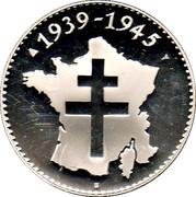 2ème Guerre Mondiale - Libération de la France -  avers