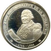 Louis XVIII - Petit module -  avers