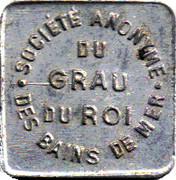 10 centimes - S A des bains de mer du Grau du roi [30] -  avers