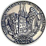 Médaille Amicale des Anciens de la Tour d'Auvergne -  avers