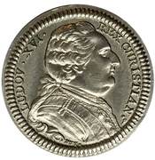 Jeton Etats de Bretagne 1788 (refrappe type II) -  avers