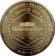 Jeton Touristique - Monnaie de Paris - Phare de la méditéranée - Palavas les Flots (34) -  revers