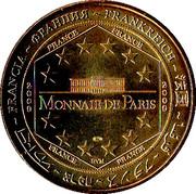 Jeton Touristique - Monnaie de Paris - Chateau de Fougères -  revers