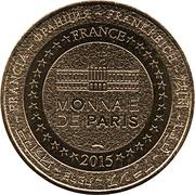 Jeton Touristique - Monnaie de Paris - Arras - Cathédrale Notre Dame - Saint Vaast -  revers