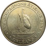 Jeton Touristique - Monnaie de Paris - Etienne Bury -  avers