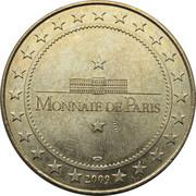 Jeton Touristique - Monnaie de Paris - Etienne Bury -  revers