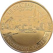 Jeton Touristique - Monnaie de Paris - Rochefort en Terre - Le château -  avers