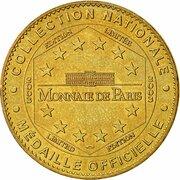 Jeton Touristique - Monnaie de Paris - Palavas-les-Flots (Phare de la Méditerranée) -  revers