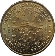 Jetons Monnaie de Paris Loches, le Logis Royal -  avers