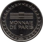 Jeton Touristique - Monnaie de Paris - Harry Potter - Poudlard Express -  revers