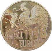 20 euro football euro 1998 -  avers