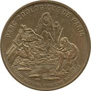 Jeton Touristique - Monnaie de Paris - Parc zoologique de Paris - Le rocher - Avec différent -  avers