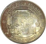 Jeton touristique - Monnaie de Paris - Font-Romeu-Odeillo-Via - Grand four solaire