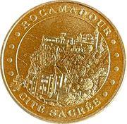Jeton touristique - Monnaie de Paris - Rocamadour - Cité sacrée -  avers