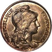 10 centimes Daniel-Dupuis -  avers