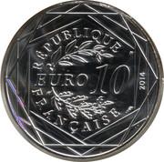 10 euros Liberté (printemps) -  avers
