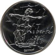 10 euros Liberté (printemps) -  revers