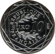10 euros Égalité (été) -  avers