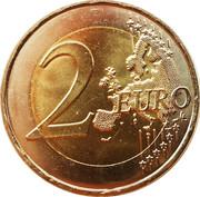 2 euros D-Day -  revers
