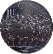 10 euros Égalité (Astérix aux Jeux Olympiques) -  revers