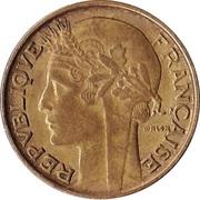 50 centimes Morlon (Cupro-aluminium) -  avers