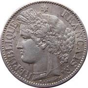 20 centimes Cérès (IIe République) -  avers