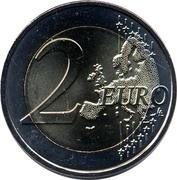 2 euros Euro UEFA 2016 -  revers