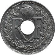 25 centimes Lindauer (souligné) -  avers