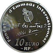 10 euros Abbé Pierre -  revers