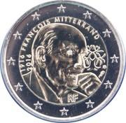 2 euros François Mitterrand -  avers