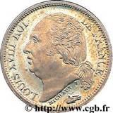 ½ franc - Louis XVIII -  avers