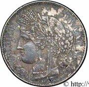 50 centimes Cérès (IIe République) -  avers