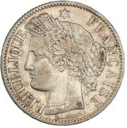2 francs Cérès (IIIe République, sans légende) -  avers