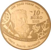 10 euros 20 000 lieues sous les mers -  revers