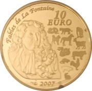 10 euros Année du Cochon -  revers