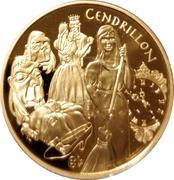 20 euros Cendrillon -  revers