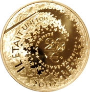 20 euros Cendrillon -  avers