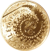 20 euros Blanche-Neige -  avers
