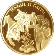 20 euros Hansel et Gretel -  revers