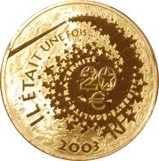 20 euros Alice au pays des merveilles -  avers