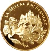 20 euros La Belle au bois dormant -  revers