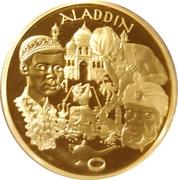 20 euros Aladdin -  revers